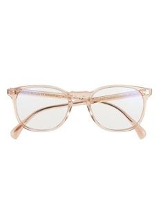Oliver Peoples Finley 51mm Blue Light Blocking Glasses