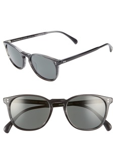 Oliver Peoples Finley 51mm Polarized Sunglasses