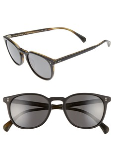 Oliver Peoples Finley 51mm Retro Polarized Sunglasses