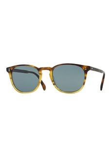 Oliver Peoples Finley Esq. 51 Acetate Sunglasses  Brown Tortoise