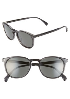 Oliver Peoples Finley Esq 51mm Polarized Sunglasses