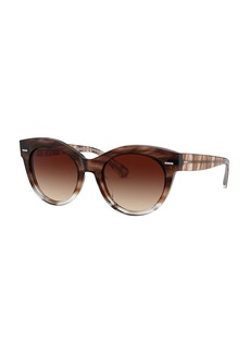 Oliver Peoples Georgica Acetate Cat-Eye Sunglasses