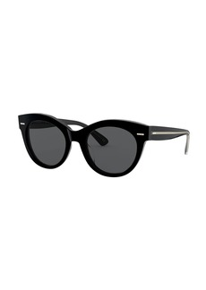 Oliver Peoples Georgica Polarized Acetate Cat-Eye Sunglasses