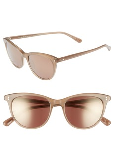 Oliver Peoples Jardinette 52mm Cat Eye Sunglasses