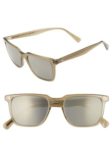 Oliver Peoples Lachman 50mm Rectangle Sunglasses