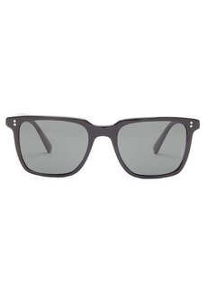 Oliver Peoples Lachman square acetate sunglasses