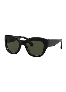 Oliver Peoples Lalit Square Acetate Sunglasses