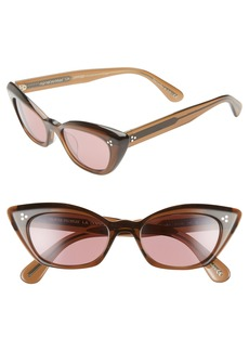 Oliver Peoples Lelaina 51mm Photochromic Cat Eye Sunglasses