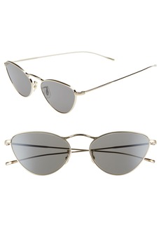 Oliver Peoples Lelaina 56mm Cat Eye Sunglasses