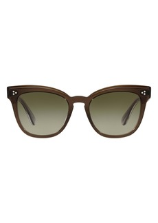 Oliver Peoples Marianela 54mm Gradient Butterfly Sunglasses