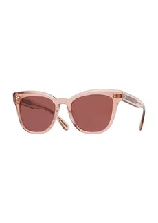 Oliver Peoples Marianela Rounded Plastic Sunglasses