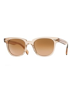Oliver Peoples Masek Universal-Fit Square Sunglasses