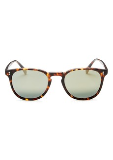 1d297609844 Oliver Peoples Men s Polarized Finley Esq. Mirrored Sunglasses