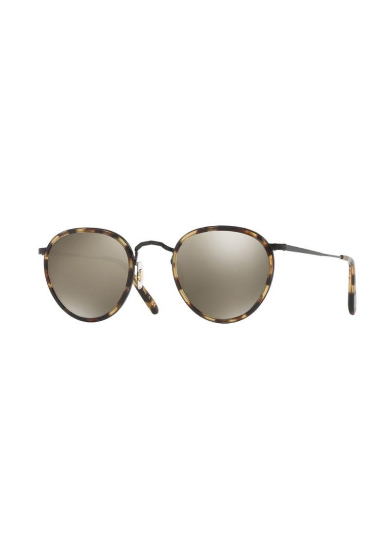 2 Mp 2 Mirrored Mp Round Sunglasses gfYb76yv