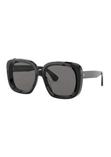 Oliver Peoples Nella Square Acetate Sunglasses