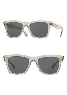 Oliver Peoples Oliver Sun 51mm Square Sunglasses
