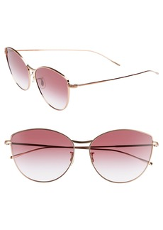 Oliver Peoples Rayette 60mm Cat Eye Sunglasses