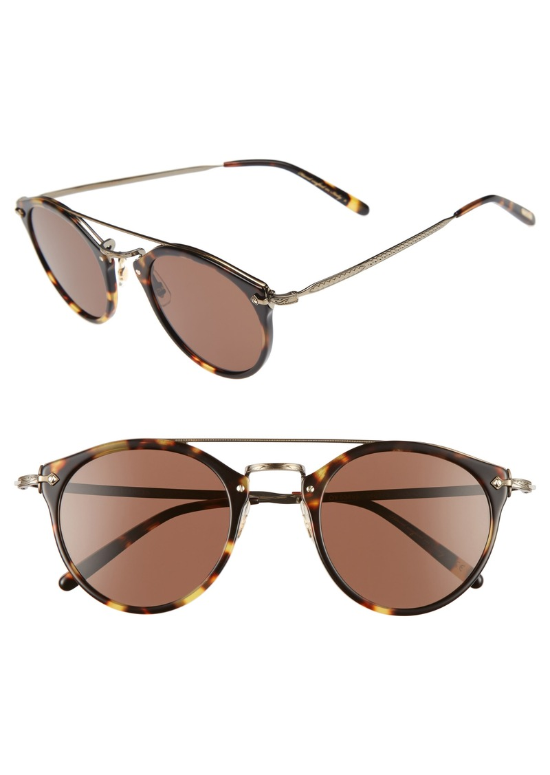 4fa98392b Oliver Peoples Oliver Peoples Remick 50mm Brow Bar Sunglasses ...