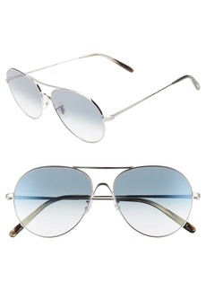 Oliver Peoples Rockmore 58mm Photochromic Aviator Sunglasses