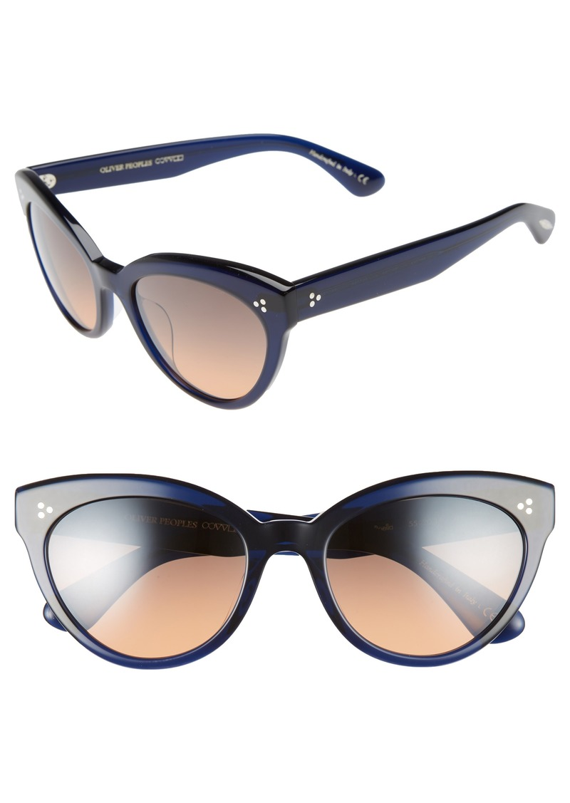6e233ce6195 Oliver Peoples Oliver Peoples Roella 55mm Cat Eye Sunglasses ...