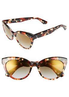 Oliver Peoples Roella 55mm Cat Eye Sunglasses