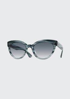 Oliver Peoples Roella Acetate Cat-Eye Sunglasses