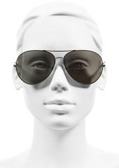 Oliver Peoples Sayer 63mm Oversized Aviator Sunglasses