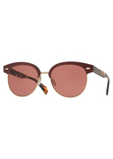Oliver Peoples Shaelie Monochromatic Semi-Rimless Sunglasses