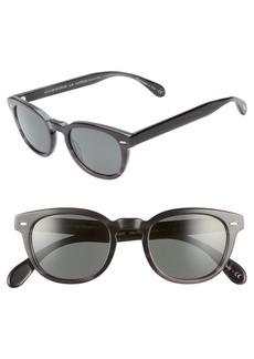 Oliver Peoples Sheldrake 47mm Polarized Sunglasses