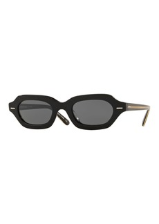Oliver Peoples The Row L.A. CC Rectangle Acetate Sunglasses