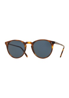 Oliver Peoples The Row O'Malley NYC Peaked Round Sunglasses