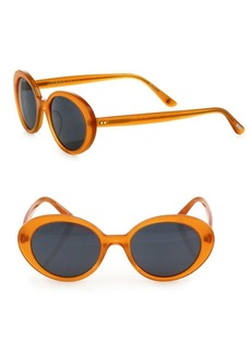 Oliver Peoples Parquet 50MM Oval Sunglasses