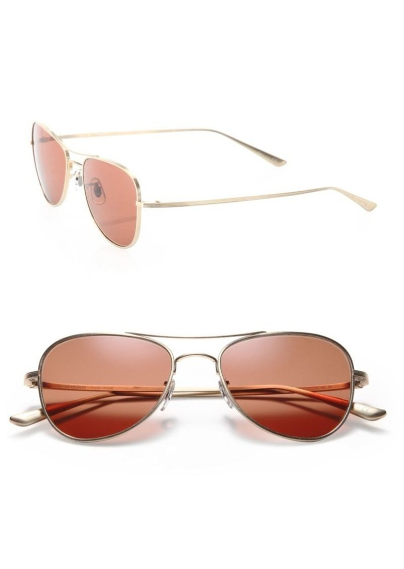 275f9788a8 The Row For Executive Suite 53MM Titanium Aviator Sunglasses. Oliver Peoples