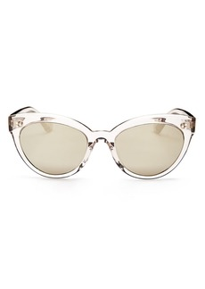 Oliver Peoples Women's Roella Mirrored Cat Eye Sunglasses, 52mm