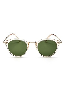 Oliver Peoples Women's Round Sunglasses, 47mm