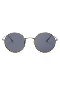 Oliver Peoples X The Row After Midnight round titanium sunglasses
