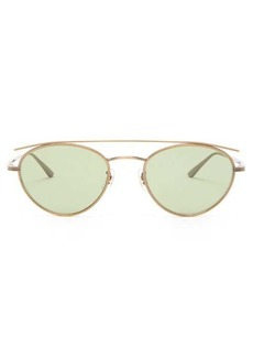 Oliver Peoples X The Row Hightree round metal sunglasses