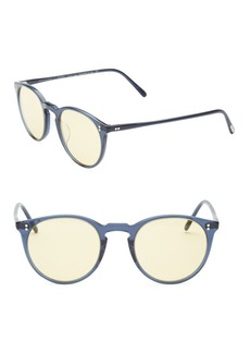 Oliver Peoples O'Malley 48MM Cat Eye Sunglasses