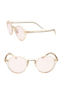 Oliver Peoples Op-1955 48mm Round Sunglasses