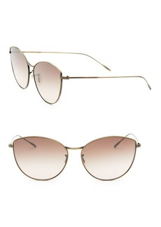 Oliver Peoples Rayette 60MM Cat-Eye Sunglasses