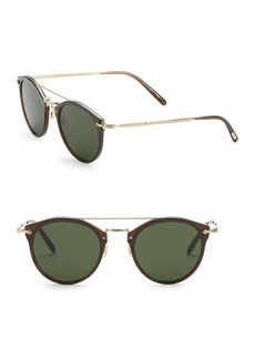 Oliver Peoples Remick 50MM Panto Sunglasses