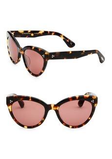 Oliver Peoples Roella 55MM Cat-Eye Sunglasses