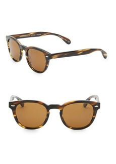 Oliver Peoples Sheldrake 47MM Pantos Sunglasses