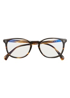 Women's Oliver Peoples Finley 51mm Blue Light Blocking Glasses - Brown/ Clear