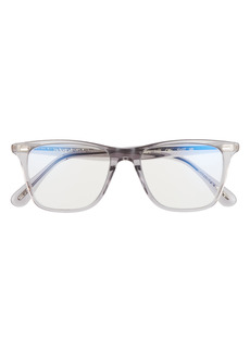 Women's Oliver Peoples Ollis 51mm Blue Light Blocking Glasses - Grey/ Clear