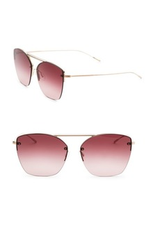 Oliver Peoples Ziane 61MM Gradient Square Sunglasses