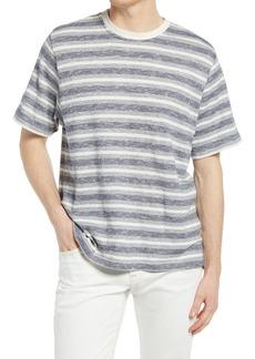 Oliver Spencer Box Stripe T-Shirt