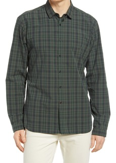 Oliver Spencer Clerkenwell Slim Fit Check Button-Up Shirt