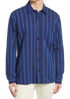 Oliver Spencer Ellington Stripe Button-Up Shirt