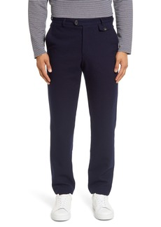 Oliver Spencer Flat Front Wool & Cotton Pants
